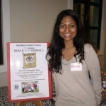 "Attorney Bimali Walgampaya at the Rotary Fundraiser ""Pour for Paws"""
