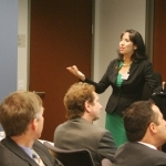 Trade Secret Attorney Anabella Bonfa Presents at OCLLP 3 -